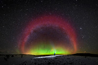 Stable Auroral Red Arc